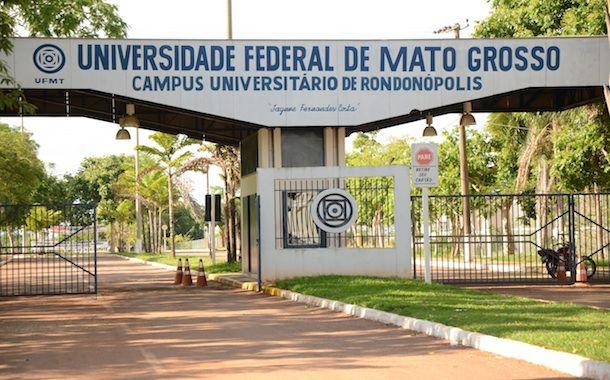Fachada UFMT, campus Rondonópolis - Foto: Arquivo / AGORA MT