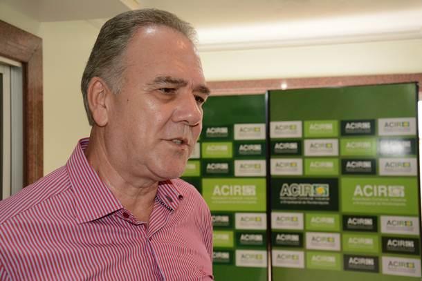 Presidente da ACIR, Luiz Fernando Homem de Carvalho – Foto: Ricardo