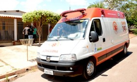 Ele foi socorridopelo samu e levado ao Hospital Regional - Foto:Varlei Cordova / AGORA MT