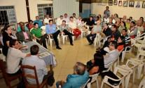 Reuniao no condivo com os candidatos ao governo de mt