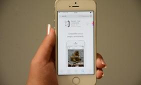 """Na Apple, o app continua listado e aparece nas buscas da App Store, mas ao tentar fazer o download, o usuário recebe uma mensagem que diz que """"o item que você tentou comprar não está mais disponível"""" - Foto: Varlei Cordova / AGORA MT"""