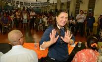 Janete Riva reuniao em Rondonopolis