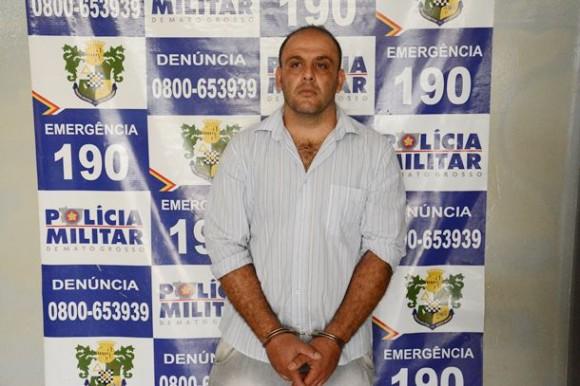 Suspeito de realizar roubos em vários bairros de Rondonópolis é preso
