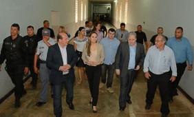 Visita do secretário do Estado de Direitos Humanos na Mata Grande - Foto: Varlei Cordova / AGORA MT