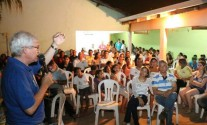 Reunião no Jardim Iguaçu com Sachetti