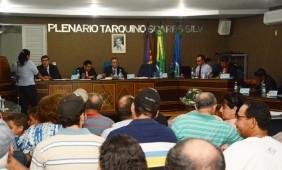 Plenário Tarquino Soares Silva - Foto: Ronaldo Teixeira / AGORA MT