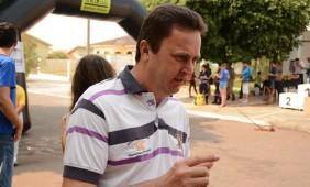 Jaciara, prefeito Ademir Gaspar - Foto: Ronaldo Teixeira / AGORA MT