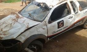 Carro em que a vítima estava - Foto: Só Notícias/Chico Telo
