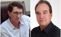 Os sojicultores Mocellin e Goulart - Foto: Internet