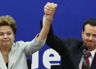 Dilma Rousseff e Gilberto Kassab - Foto: Internet