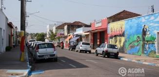 Centro de Guiratinga - Foto: Ronaldo Teixeira / AGORA MT