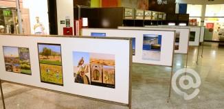 São 50 quadros com 150 fotos - Foto: Varlei Cordova / AGORA MT