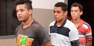 Suspeitos de estelionato presos pela PM-Foto;Messias Filho/AGORA MT
