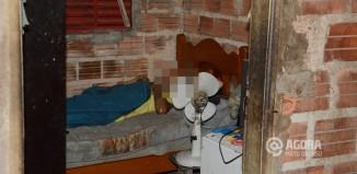 Corpo encontrado dentro de residencia - Foto : Messias Filho / AGORA MT