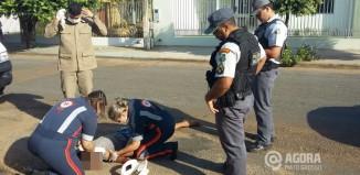 O adolescente teve vários ferimentos na região da cabeça - Foto: José Antônio / AGORA MT