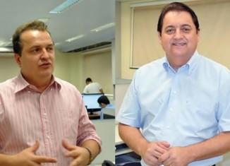 Max Russi e Sebastião Rezende - Fotomontagem AGORA MT