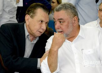 Carlos Gomes Bezerra e Percival Santos Muniz