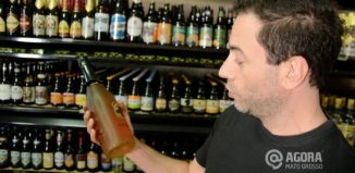 Consumo de cerveja artesanal - Foto: Varlei Cordova/ AGORA MT