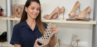 Sapatos para noivas e madrinhas - Foto: Varlei Cordova/ AGORA MT