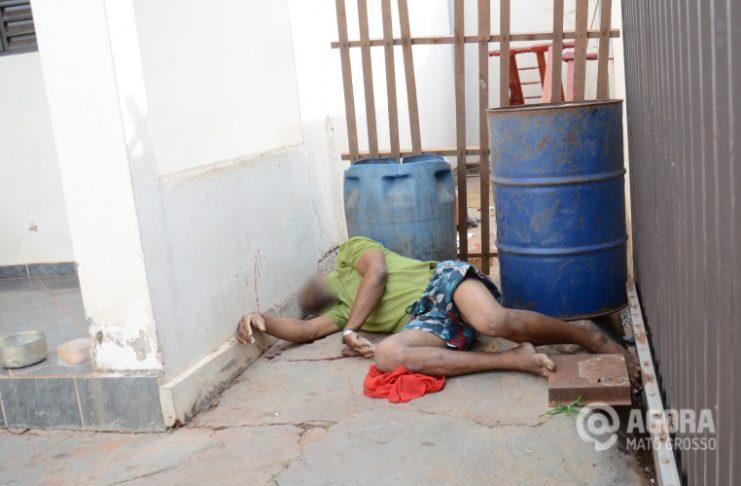 Adevilson Moreira vítima de homicídio no Jardim Rivera - Foto: Varlei Cordova/ AGORA MT