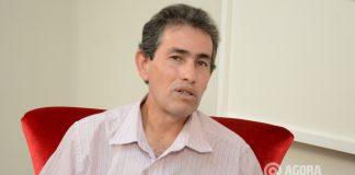 Valdir Correa presidente Municipal do SD - Foto: Varlei Cordova/ AGORA MT