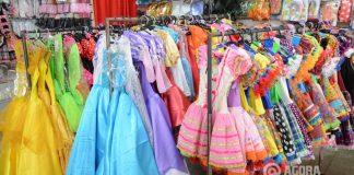 Vestidos para festa junina - Foto : Varlei Cordova / AGORA MT