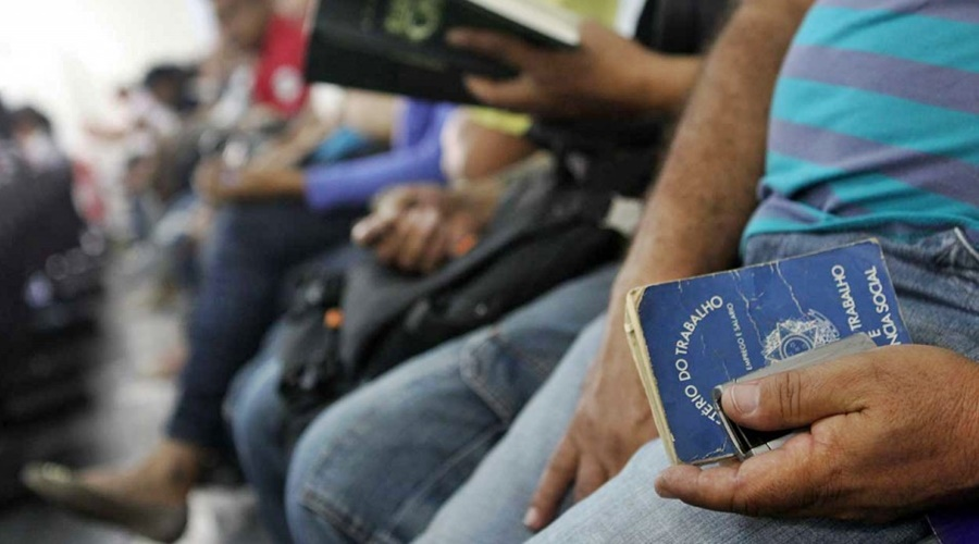 Imagem: Brasil tem índice elevado de desemprego Foto: Arquivo