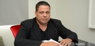 Rubens Cantuário candidato a prefeito pelo PSOL - Foto: Varlei Cordova/AGORAMT