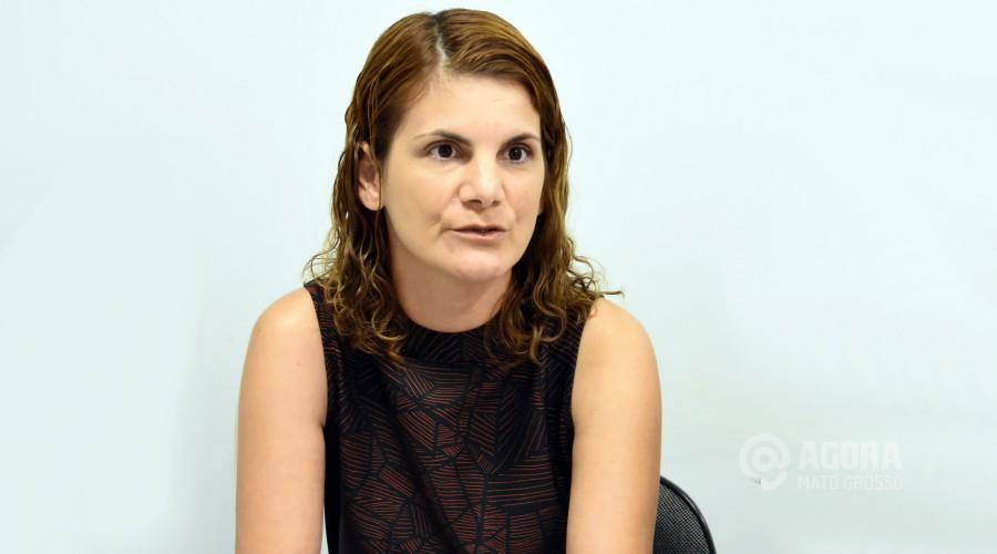 Analy Castilho Polizel de Souza Pró Reitora da Univerdidade - Foto: Varlei Cordova / AGORA MT