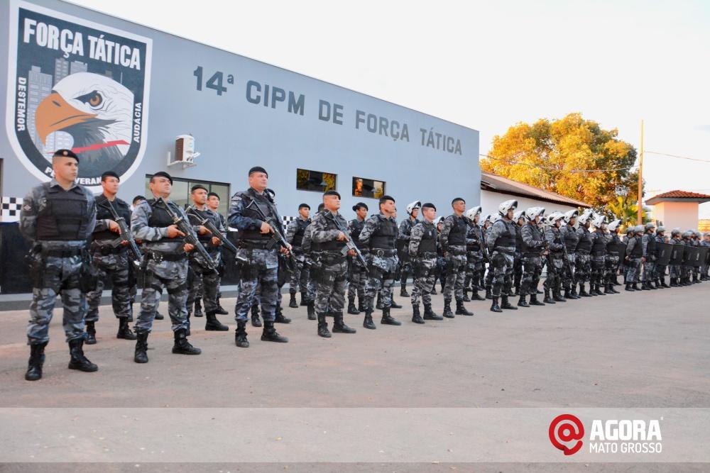 Imagem: Solenidade de inauguração e ativação da 14 º  Companhia Independente  de Polícia Militar de Força Tática   1 (2)