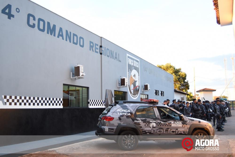 Imagem: Solenidade de inauguração e ativação da 14 º  Companhia Independente  de Polícia Militar de Força Tática   1 (21)