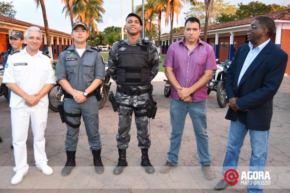 Imagem: Solenidade de inauguração e ativação da 14 º  Companhia Independente  de Polícia Militar de Força Tática   1 (23)