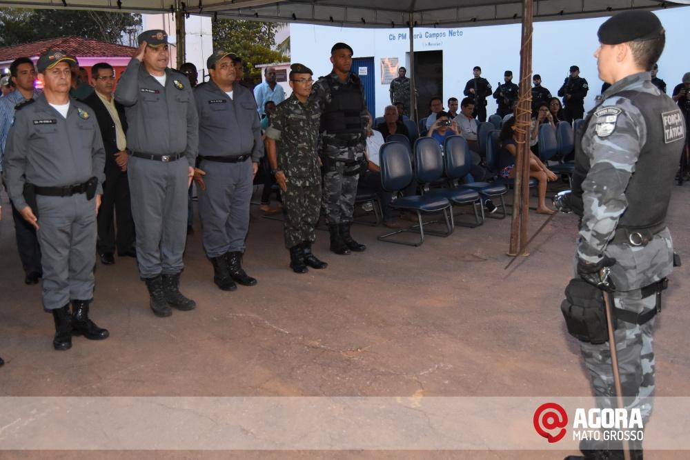 Imagem: Solenidade de inauguração e ativação da 14 º  Companhia Independente  de Polícia Militar de Força Tática   1 (29)