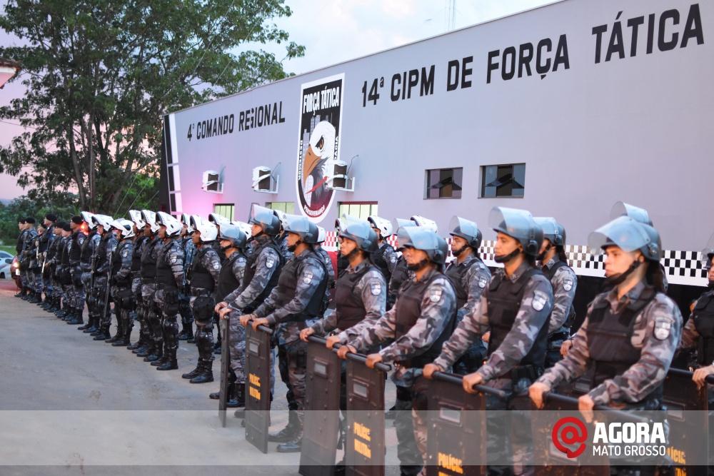 Imagem: Solenidade de inauguração e ativação da 14 º  Companhia Independente  de Polícia Militar de Força Tática   1 (3)