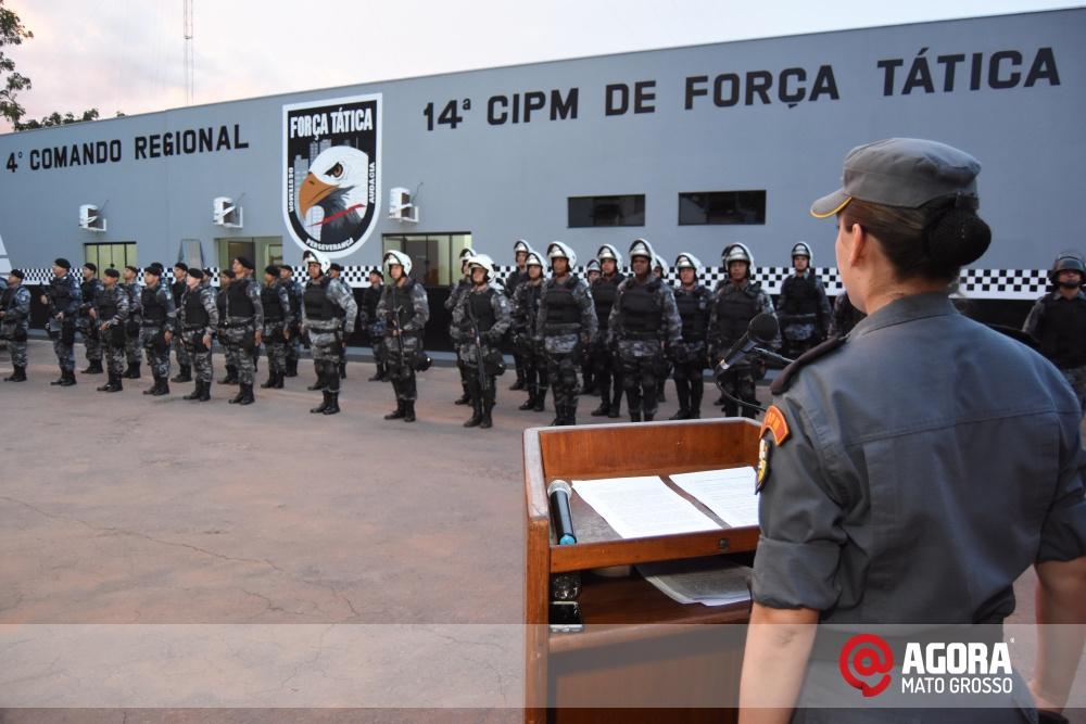 Imagem: Solenidade de inauguração e ativação da 14 º  Companhia Independente  de Polícia Militar de Força Tática   1 (30)