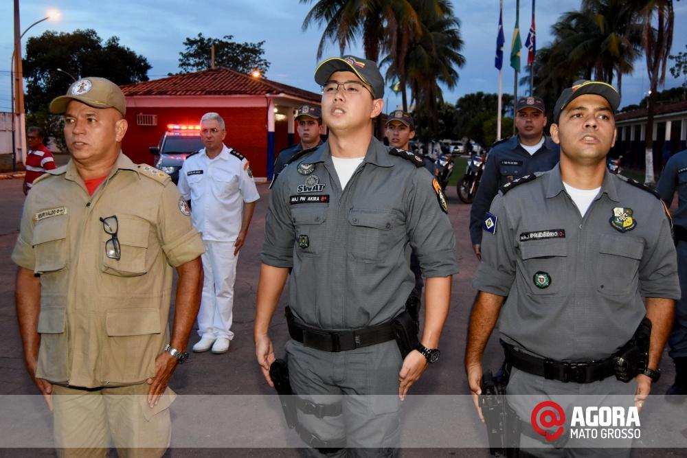 Imagem: Solenidade de inauguração e ativação da 14 º  Companhia Independente  de Polícia Militar de Força Tática   1 (31)