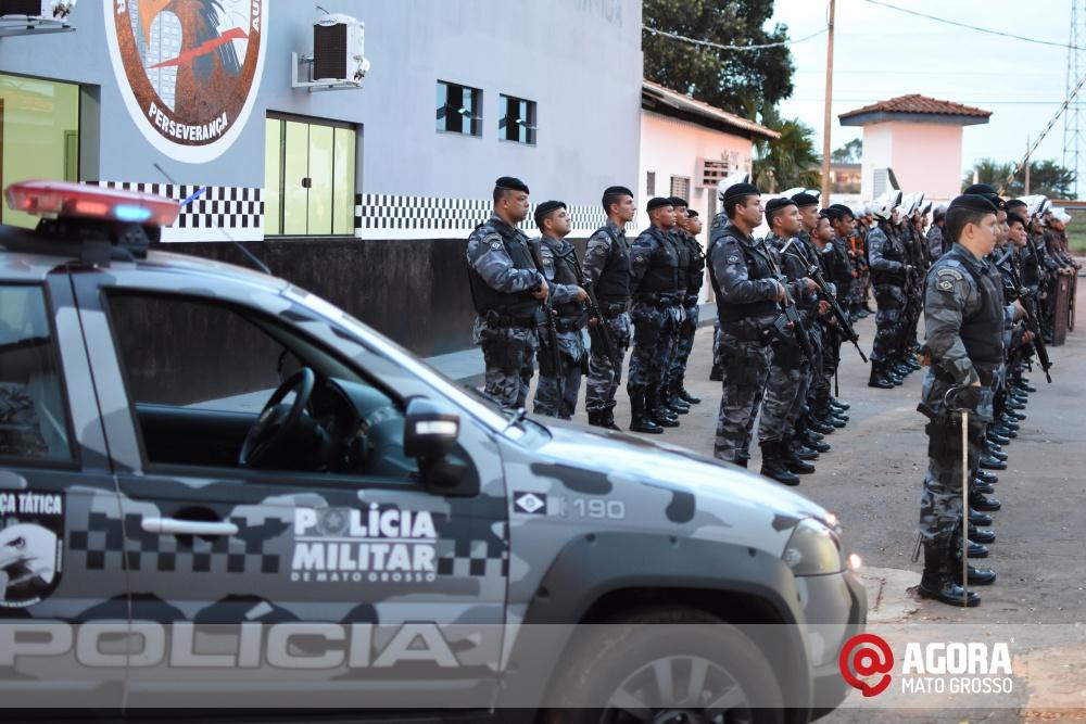 Imagem: Solenidade de inauguração e ativação da 14 º  Companhia Independente  de Polícia Militar de Força Tática   1 (32)