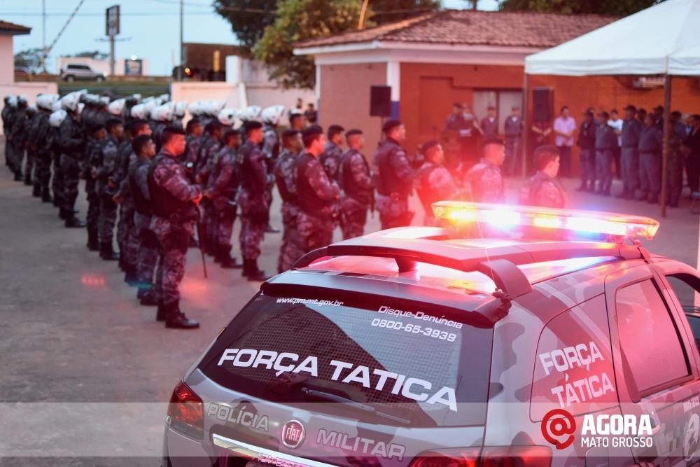 Imagem: Solenidade de inauguração e ativação da 14 º  Companhia Independente  de Polícia Militar de Força Tática   1 (33)
