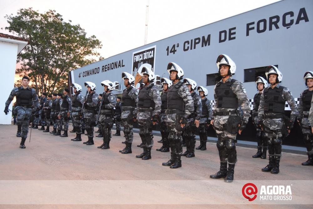 Imagem: Solenidade de inauguração e ativação da 14 º  Companhia Independente  de Polícia Militar de Força Tática   1 (4)