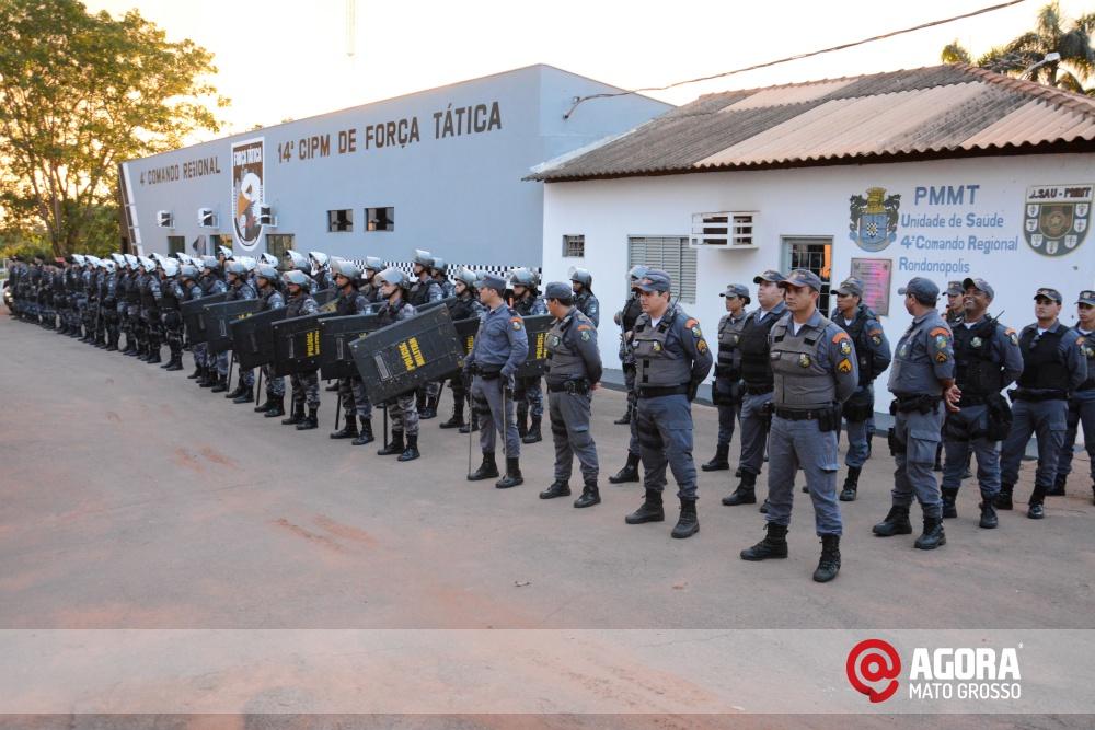 Imagem: Solenidade de inauguração e ativação da 14 º  Companhia Independente  de Polícia Militar de Força Tática   1 (5)