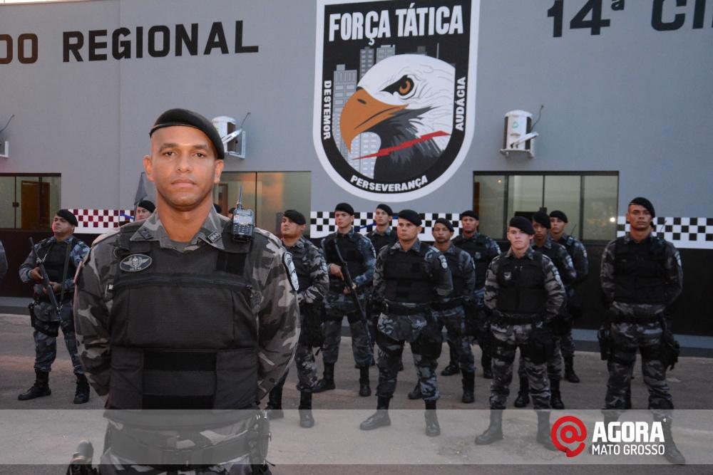 Imagem: Solenidade de inauguração e ativação da 14 º  Companhia Independente  de Polícia Militar de Força Tática   1 (6)