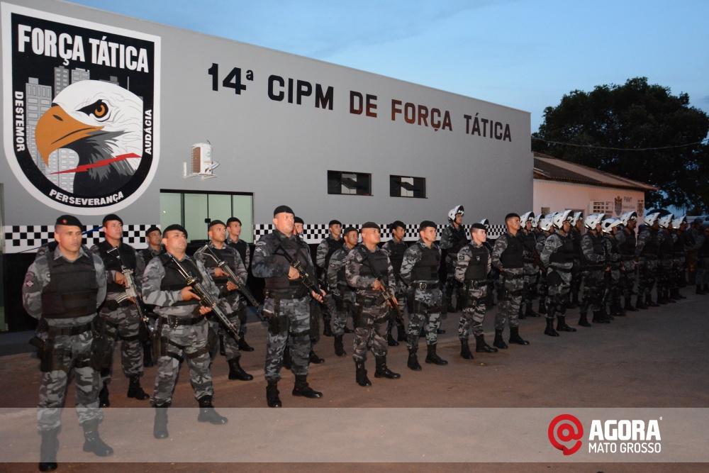 Imagem: Solenidade de inauguração e ativação da 14 º  Companhia Independente  de Polícia Militar de Força Tática   1 (7)