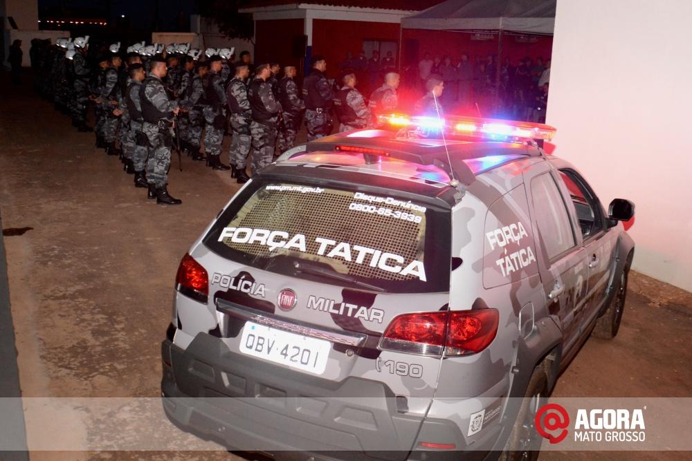 Imagem: Solenidade de inauguração e ativação da 14 º  Companhia Independente  de Polícia Militar de Força Tática   1 (8)