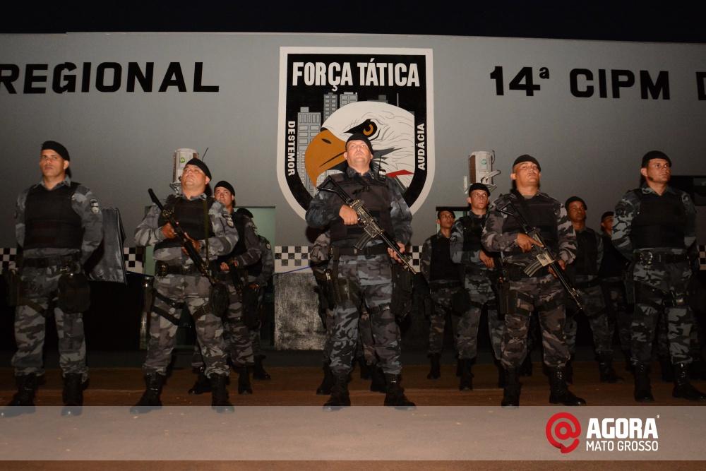 Imagem: Solenidade de inauguração e ativação da 14 º  Companhia Independente  de Polícia Militar de Força Tática   1 (9)