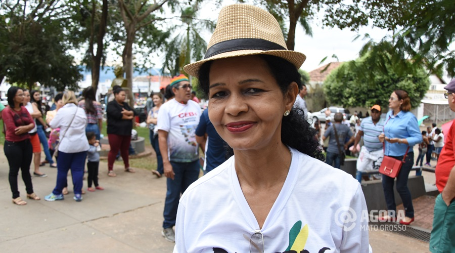Maria Celma de Oliveira presidente do sindicato em Rondonópolis - Foto: Varlei Cordova / AGORA MT