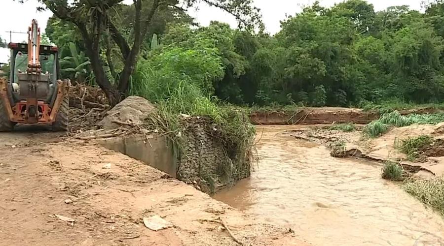 Forte chuva causa grandes deslizamentos e alagamentos em MG - Foto: Divulgação/ Prefeitura