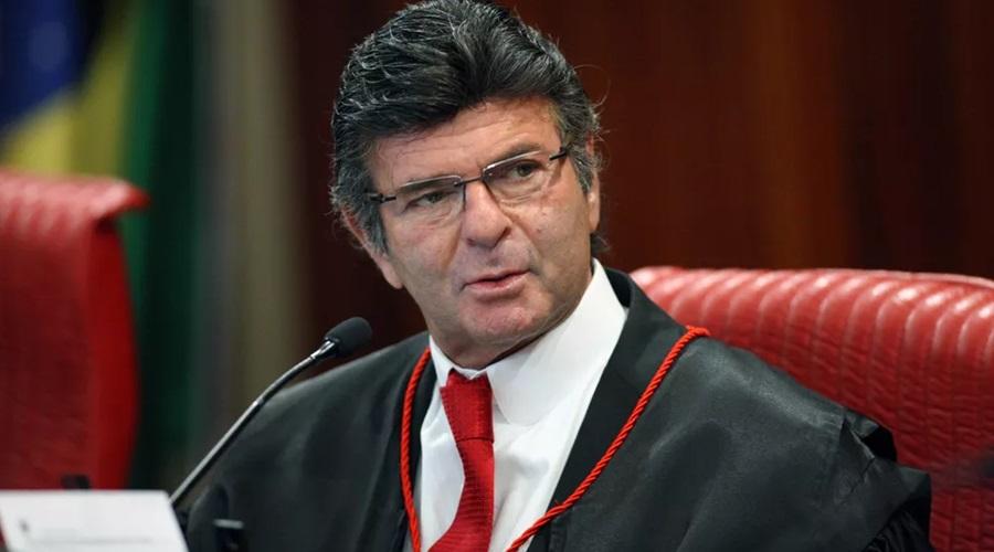O ministro Luiz Fux, durante sessão do Tribunal Superior Eleitoral (TSE) - Foto: Roberto Jayme/TSE
