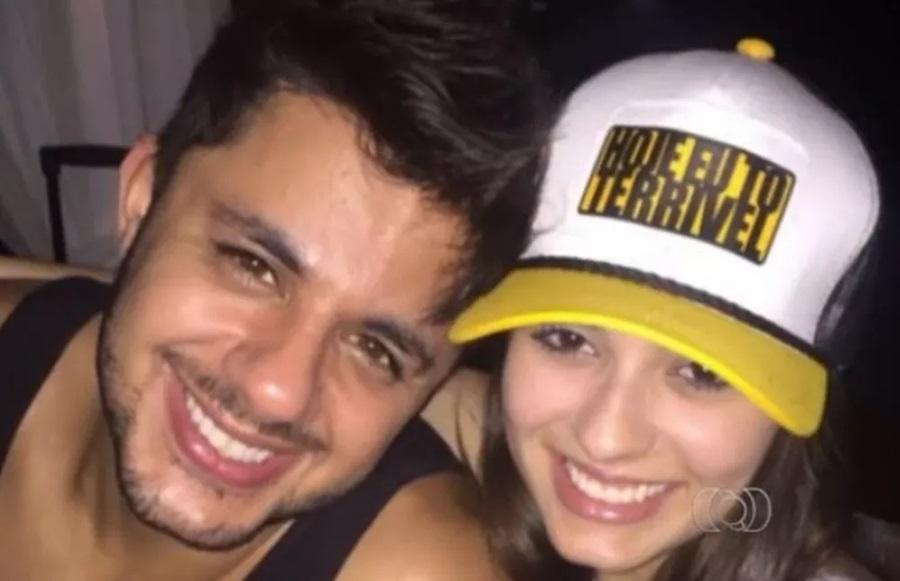 Cristiano Araújo e a namorada, Allana Moraes morreram no acidente - Foto: Reprodução/TV Anhanguera
