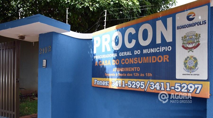 Procon Rondonópolis- Foto: Varlei Cordova / AGORA MATO GROSSO
