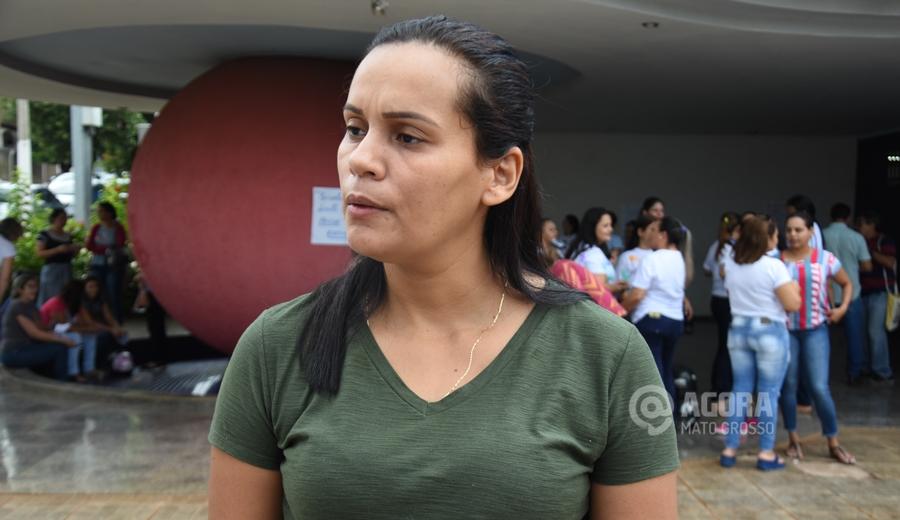 Geane Teles presidente do sindicato - Foto: Messias Filho / AGORA MATO GROSSO